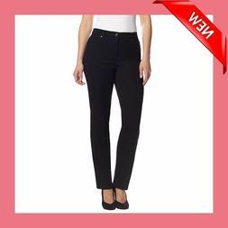 Gloria Vanderbilt Ladies' Amanda Stretch Denim Jeans-BLACK