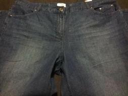 Ladies Denim Jeans Just My Size Hanes Classic Fit Size 24W S