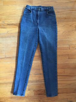 Ladies HANES High Rise MOM jeans tapered. NWOT