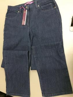 Gloria Vanderbilt Ladies  Size 14 Amanda Stretch Jeans Herit