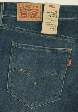 Levi's  310 Women's SHAPING SUPER SKINNY  PLUS SIZE  Ripped