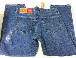 Levi's 505 Men's Regular Fit Jeans Medium Stonewash