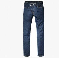 Levi's 505 Regular Fit Men's Jeans In Dark Stonewash, 34x32