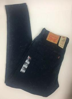 Levi's 512 Jeans Slim Taper Stretch Blue Acid Wash Jean Levi