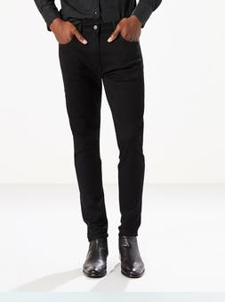 Levi's 512 Slim Taper Fit Stretch Jeans - Black Stretch - Mu