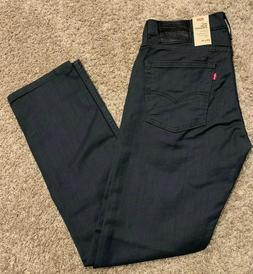 Levi's 513 Jeans Slim Straight Stealth Gray w/stretch Men's