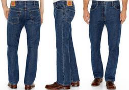 Levi's 517 Bootcut Fit Mens Jeans Szs:32,33,34,36,38,40 Dark