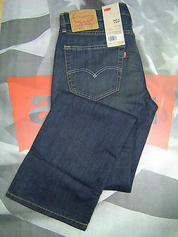 LEVI'S 527 MEN'S SLIM BOOT CUT ZIP FLY LIGHTWEIGHT STRETCH J