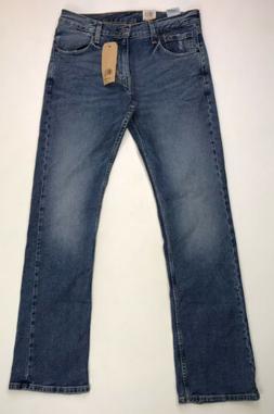Levi's 527 Slim Bootcut Stretch Denim Jeans Men's Size 33 X