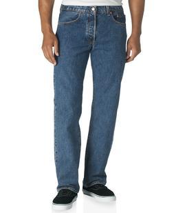 Levi's Men's 501 Original-Fit Non-Stretch Jeans, Dark Stonew