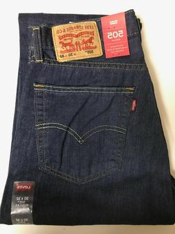 Levi's Men's 505 Jeans $27 OFF Sizes 30, 31, 32, 33, 34, 36,
