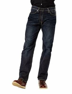 Levi's Men's 505 Regular Fit Straight Leg Jean Navarro Dark