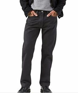 Levi's Men's 505 Regular Fit Jeans black 31x30 NWT