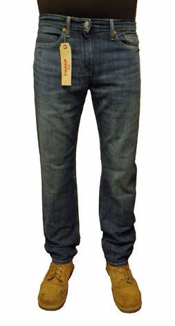 Levi's Men's 514 Straight Leg Jeans Blue Faded Wash 514-0761