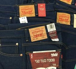 Levi's ~ Men's ~ 517-2017 flex denim jeans, Boot cut, Cotton