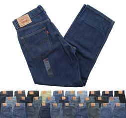 Levi's Men's 550 Blue Jeans Straight Leg Relaxed Fit Denim J