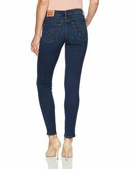 Levi's Size 29 x 30 Womens 811 0020 Curvy Skinny Dark Blue D