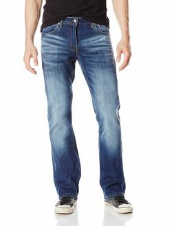Levi's Strauss 527 Men's Slim Bootcut Jeans Wave Allusions S
