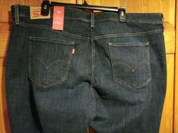 Levi's Vintage Soft Women's Plus Size 711 Mid-Rise Skinny Je