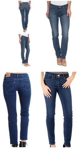 Levi's Women's 712 Slim Fit Mid Rise Stretch Denim Jeans