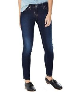 Levi's Women's Blue Size 32X29 Stretch 811 Curvy Skinny Leg