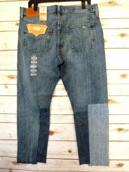 Levis 501 Jeans for Women Distressed Patch Look Size 32/27 -