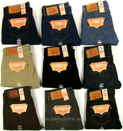 Levis 501 Jeans New Mens Original Button Fly NWT 29 30 31 32