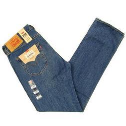 Levis 501 Jeans Original New Mens Size 33 x 34 DARK BLUE STR
