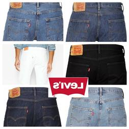 Levis 501 Original Fit Jeans Straight Leg Button Fly 100% Co