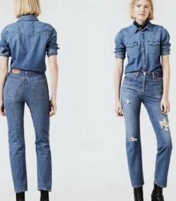 Levi's 501's Original Time Lapse High Waisted Medium Was