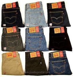 af480441f71 Levis 505 Jeans New Mens Regular Fit Straight Leg 29 30 31 3