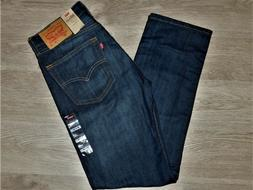 LEVIS 505 Jeans Regular Fit Straight Leg Sits At Waist Shoes