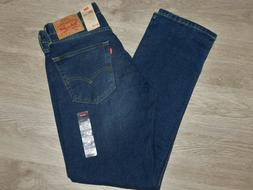 Levis 505 Regular Fit Jeans Stretch Straight Roomy Thigh Haw