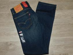 LEVIS 505 Regular Fit Jeans Stretch Straight Leg Springstein