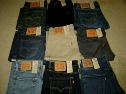 Levis 511 Jeans New Men Levi's Slim Fit Retail $70