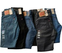 Levis 511 Slim Fit Stretch Jeans Many Colors 29 30 31 32 33