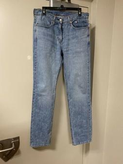 Levis 514 Stretch Blue Jeans 32x34
