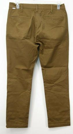 Levis Mens 511 0011 Slim Performance Trouser Khaki Chino Str