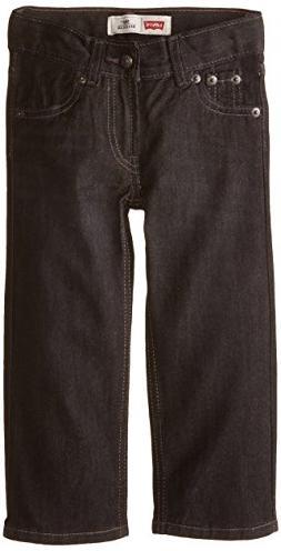 Levi's Little Boys' 505 Regular Fit Jean, Levine, 4T
