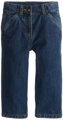 Carhartt Little Boys' Toddler Denim Dungaree Jeans, Worn In