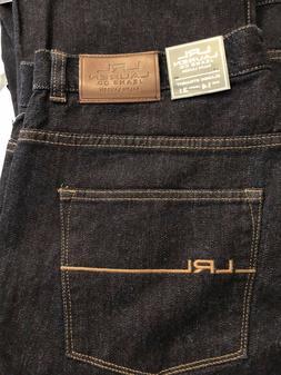 LRL Lauren Ralph Lauren Classic Straight Leg Sz 14 Dark Deni