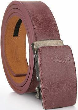 Marino Ratchet Genuine Leather Belt for Men - Casual Belt -