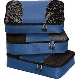 eBags Medium Packing Cubes for Travel - 3pc Set -