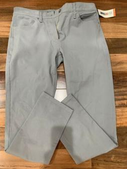 Dockers Men Jean Cut Light Gray Pants Size 34x32 Slim Fit 36