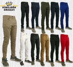 MEN JEANS SLIM STRETCH FIT SLIM FIT TROUSER CASUAL SKINNY PA