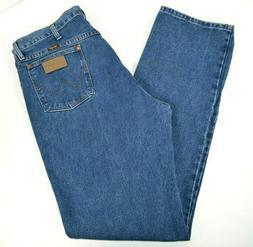 Wrangler Men's 13MWZ Cowboy Cut Blue Jeans, Medium Wash 36x3