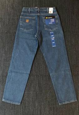 Carhartt Men's B17 Relaxed Fit Five Pocket Tapered Leg Jeans