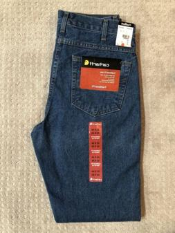Carhartt Men's B18 Straight Traditional Fit Jeans Darkstone