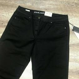 CALVIN KLEIN Men's Basic Slim Straight Leg Jeans, Black 31 x