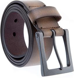 Men'S Belt, Genuine Leather Casual Belt, Looks Great With Je